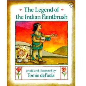 The Legend Of The Indian Paintbrush BOOK